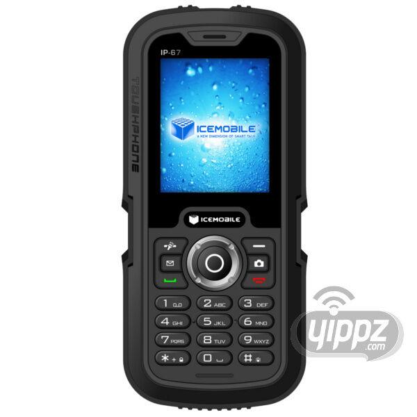 Icemobile Submarine IP67 Unlocked Worldwide Quadband GSM Dual Sim Cell Phone Blk