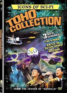 Icons of Science Fiction: Toho Collectio...