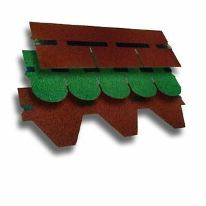 Details about Icopal Bituminous Roofing Shingle. Felt Roof Tile