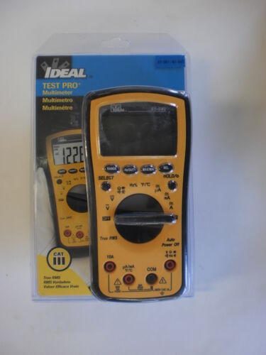 Ideal Test Pro Multimeter True RMS 61-361 61-342 Electrical Tester Meter in Business & Industrial, Electrical & Test Equipment, Test Equipment | eBay