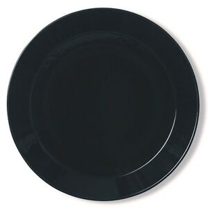 Iittala-Teema-schwarz-Teller-flach-26cm-NEU