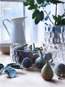 ikea glasschale handmade mundgeblasen schale obstschale. Black Bedroom Furniture Sets. Home Design Ideas