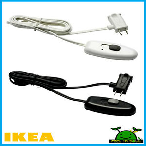 ikea lamp light cord dimmer light switch new ebay. Black Bedroom Furniture Sets. Home Design Ideas