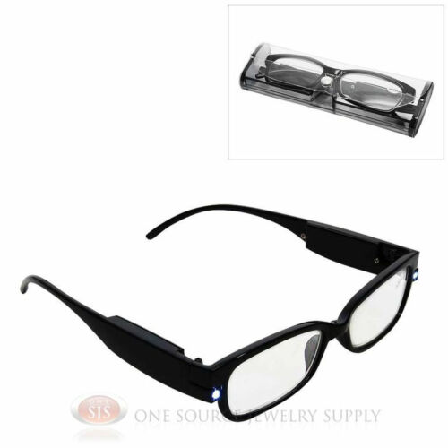 illuminated magnification readingglasses. Black Bedroom Furniture Sets. Home Design Ideas
