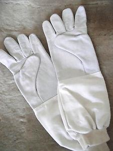 Imkerhandschuhe-Echt-Leder-Schutzhandschuhe-griffig-Groessen-6-11-Handschuhe