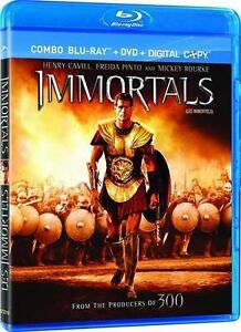 Immortals (Blu-ray/DVD, 2012, 2-Disc Set...