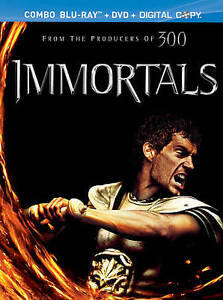 Immortals (Blu-ray/DVD, 2012, Canadian; ...