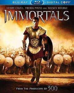 Immortals (Blu-ray Disc, 2012, Includes ...