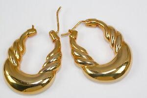 Imposante-Ohrringe-in-585-Gelbgold-Gewicht-12-6-Gramm