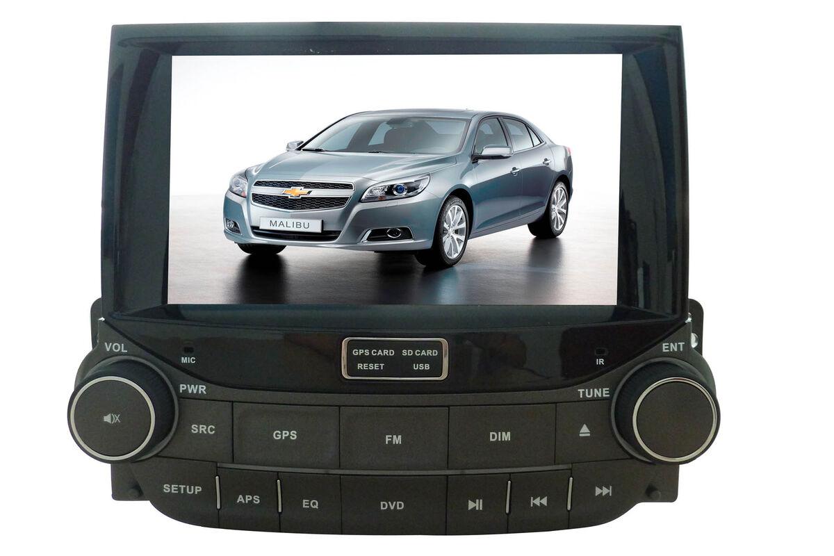 In Dash Car DVD Player GPS Radio Navigation 8 inch LCD for Chevrolet Malibu 2012