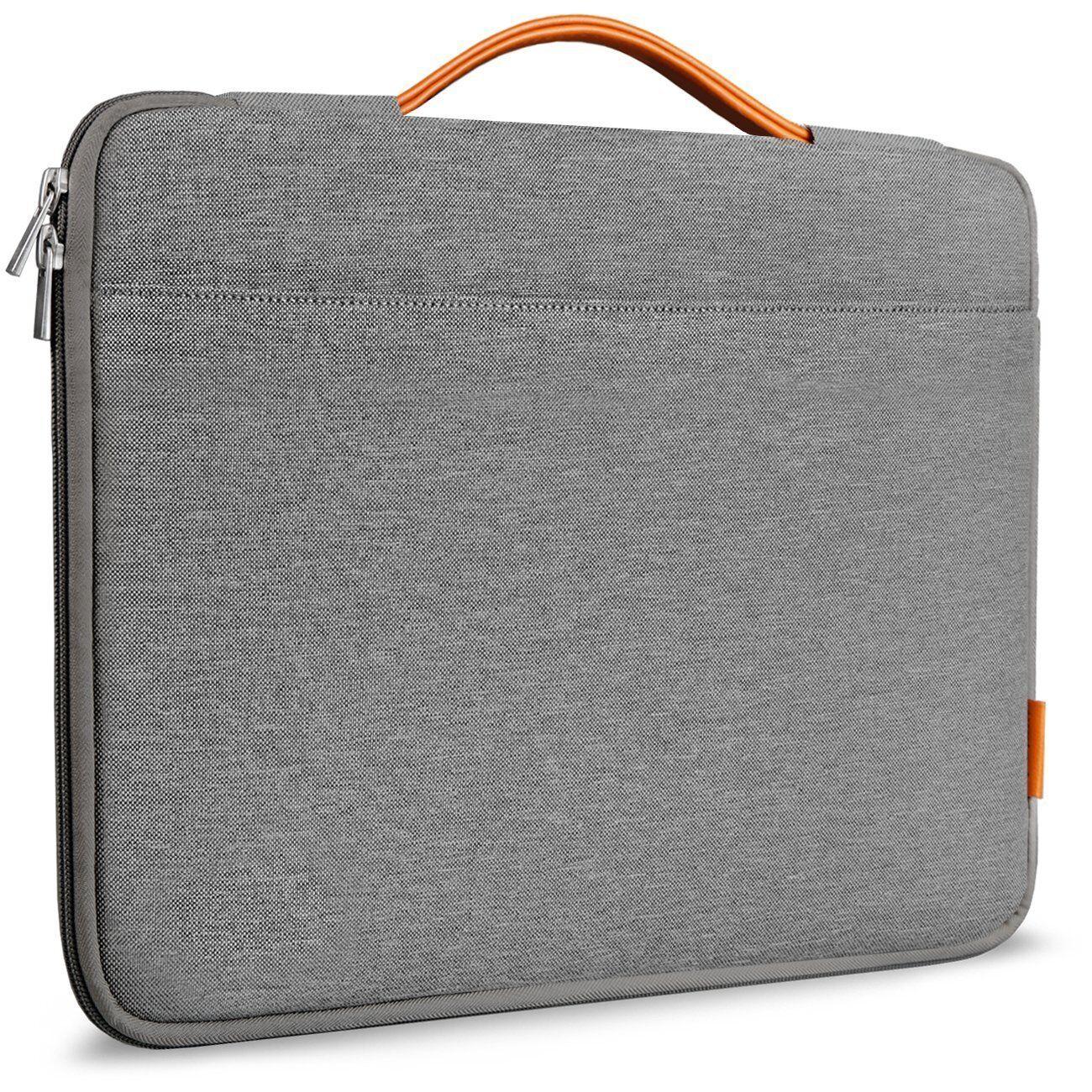 inateck lb1301g 13 3 zoll tasche f r macbook air macbook pro pro retina grau. Black Bedroom Furniture Sets. Home Design Ideas