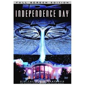 Independence Day (DVD, 2002, Full Frame ...