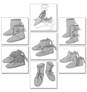 Pattern For Moccasin Boots || t1 t3 e1 e3 idle pattern