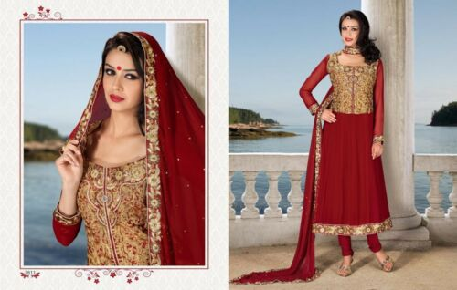 Hairstyle For Long Hair On Salwar Kameez : Indian Salwar Kameez Wedding Bollywood Salwar Kameez LONG HAIRSTYLES