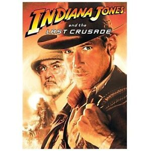 Indiana Jones and the Last Crusade (DVD,...
