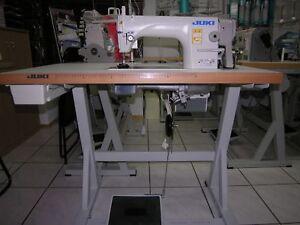 Industrie-Naehmaschine-JUKI-DDL-8700-Schnellnaeher-NEU-kpl-montiert-aufgebaut