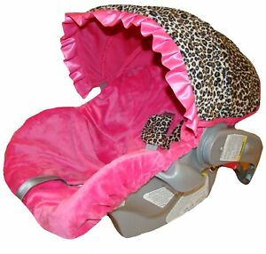 Infant Car Seat Cover for Your Baby Girl-Hot Pink Cheetah in Baby, Car Safety Seats, Car Seat Accessories | eBay