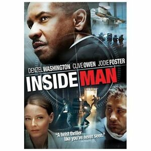 Inside Man (DVD, 2006, Anamorphic Widesc...