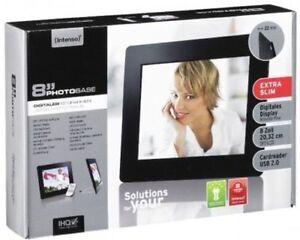 Intenso-Photobase-8-SET-inkl-8GB-SDHC-Speicherkarte-8-Zoll-Bilderrahmen