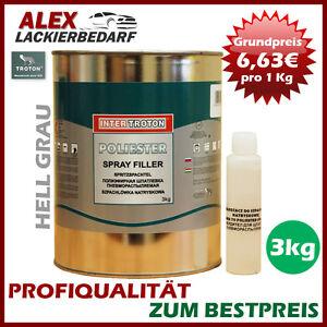 Inter-Troton-Polyester-Spritzspachtel-3kg-Haerter-Spritz-Spachtel-Spritzfueller