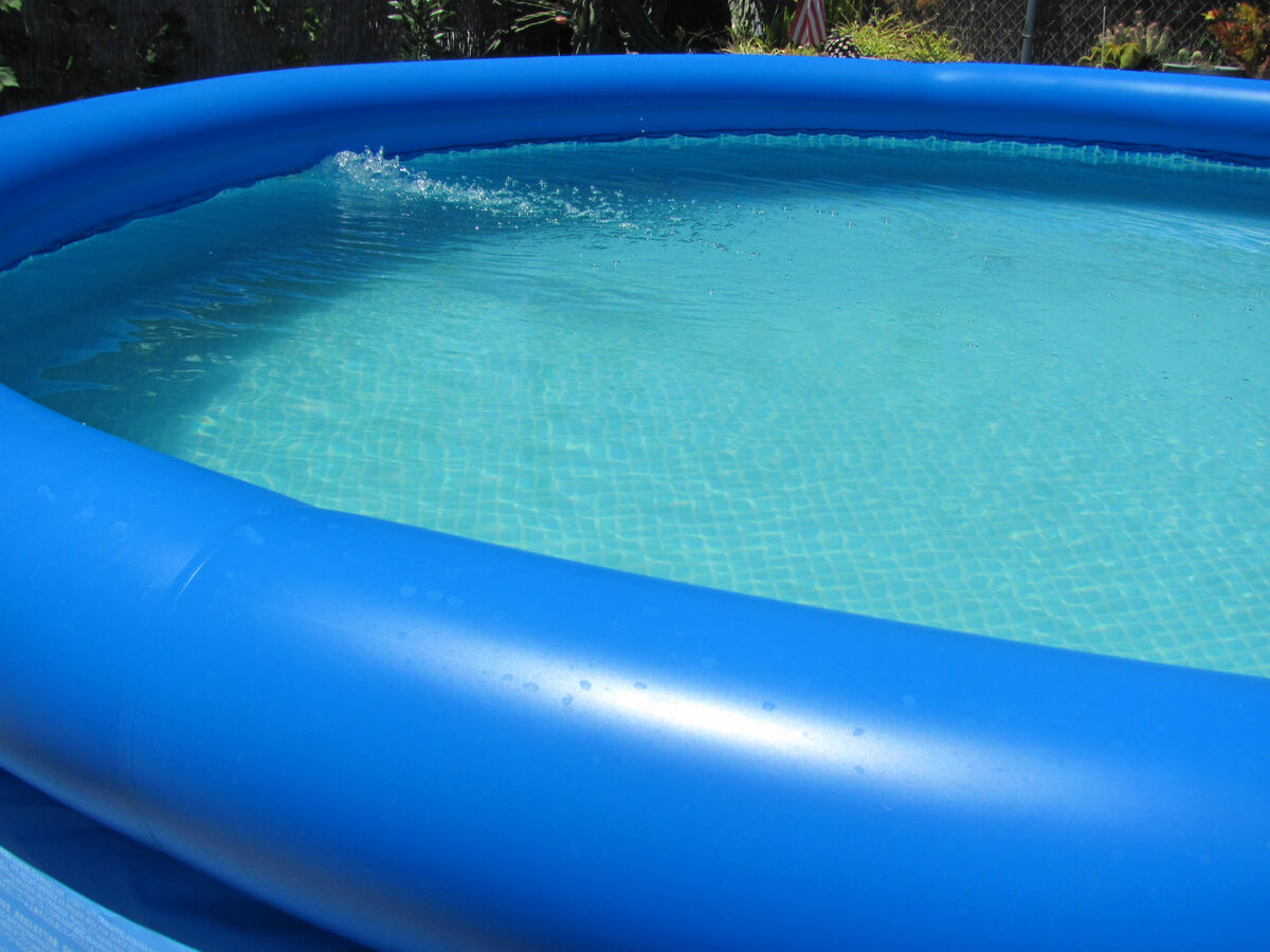 48 Easy Set Above Ground Swimming Pool W Pump Ladder Cover G On Popscreen