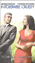 Intolerable Cruelty (VHS, 2004)