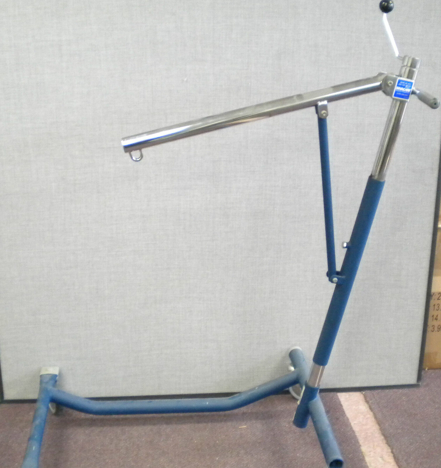 Invacare Hoyer Lift Hydraulic Medical Patient Transfer Model