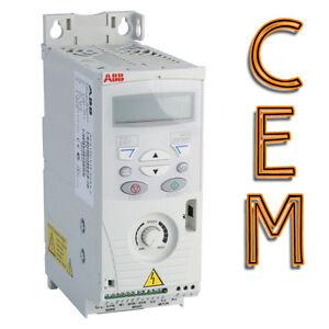 inverter abb acs150 3 kw 4 hp trifase 380 per motore elettrico convertitore ebay. Black Bedroom Furniture Sets. Home Design Ideas