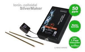 ionic colloidal silvermaker silber generator kolloidales. Black Bedroom Furniture Sets. Home Design Ideas