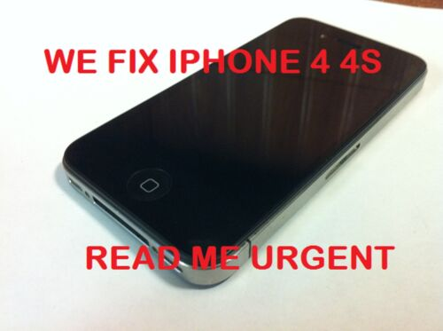Iphone 4G 4 4S WATER DAMAGE BROKEN LCD FIX REPAIR SERVICE POWER HOME BUTTON MAC in Specialty Services, Restoration & Repair, Electronics | eBay
