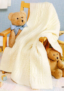 Blanket Knitting Patterns - LoveKnitting