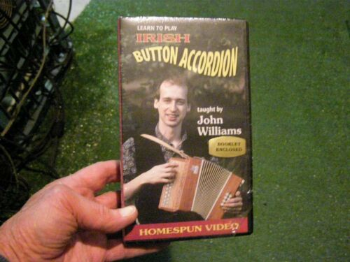 Irish Button Accordion (Learn to Play VHS Instruction Tape) in Musical Instruments & Gear, Accordion & Concertina | eBay