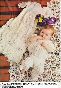 CHRISTENING CROCHET DRESS FREE PATTERN - Online Crochet Patterns