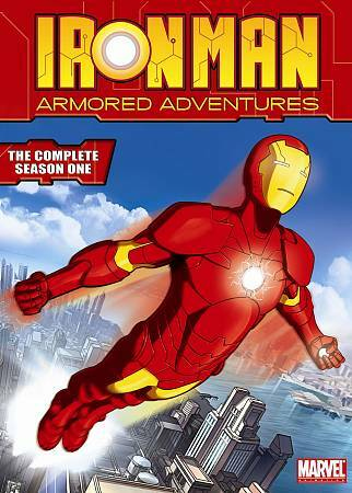 Iron Man Armored Adventures   The Complete Season 1 DVD, 2010, 4 Disc