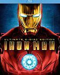 Iron Man (Blu-ray Disc, 2008, 2-Disc Set...