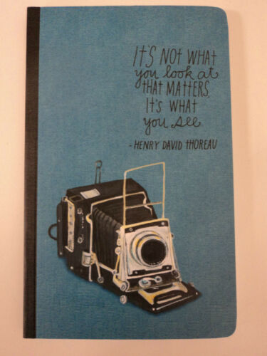 It's not what you look at it's what you see WRITE NOW JOURNAL photo photography in Books, Accessories, Blank Diaries & Journals | eBay