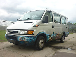 iveco daily 9 sitzer bus kleinbus turbo diesel 2003 ebay. Black Bedroom Furniture Sets. Home Design Ideas