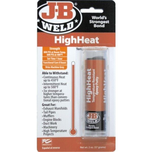 j b industrial repair highheat epoxy putty to bond repair materials 2oz ebay. Black Bedroom Furniture Sets. Home Design Ideas