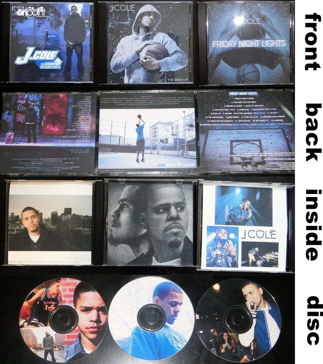 Cole cd set the come up the warm up friday night lights on popscreen cole cd set the come up the warm up friday night lights aloadofball Gallery