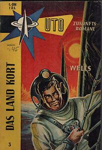 J-E-Wells-Das-Land-Kort-UTO-Zukunftsroman-Nr-3-Balve