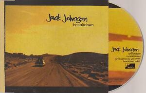 JACK-JOHNSON-Breakdown-CD-4-track-incl-VIDEO