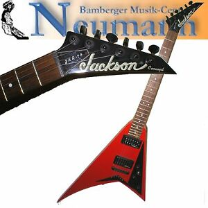 JACKSON-JRR-94-Randy-Rhoads-Concept-E-Gitarre-Guitar-Flying-V-Rot-Made-in-Japan