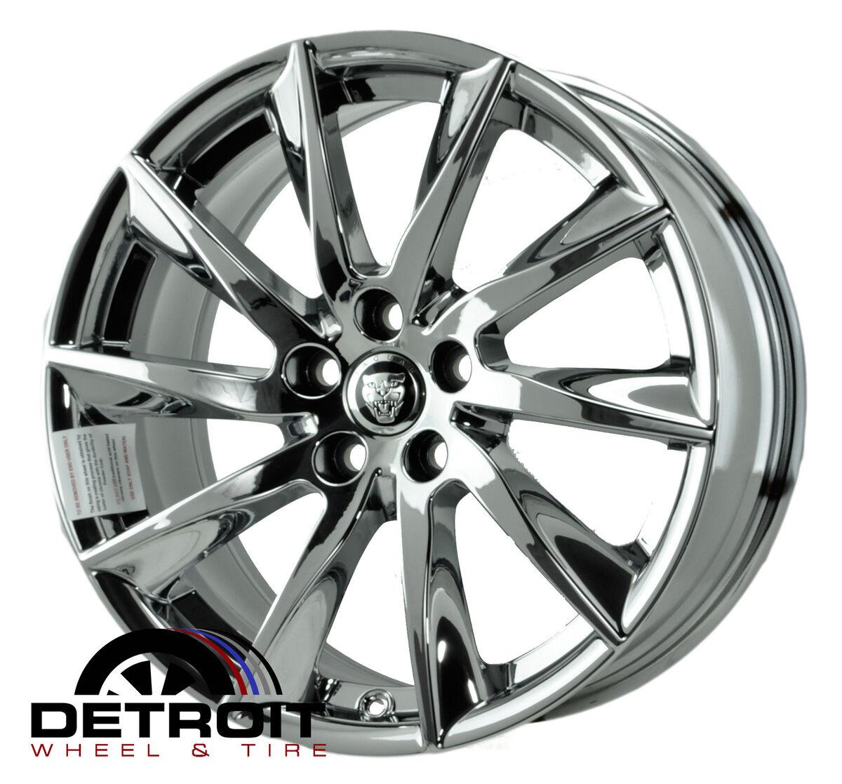 Jaguar XF PVD Bright Chrome Wheels Factory Rim 59885 Exchange 2011 2013
