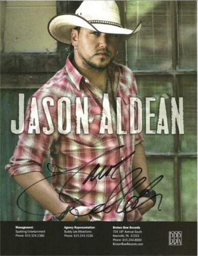 JASON ALDEAN SIGNED PHOTO 8X10 RP AUTO AUTOGRAPHED * COUNTRY MUSIC SINGER in Sports Mem, Cards & Fan Shop, Autographs-Reprints | eBay