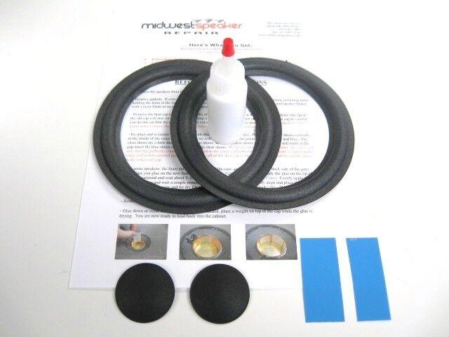 JBL 2600 J2060 HP420 506G 6 5 Woofer Refoam Kit Foam Speaker on