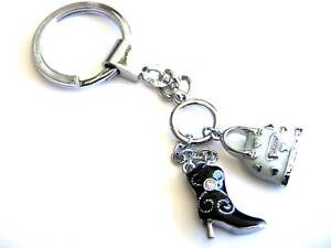 JDS Keychains http://www.ebay.com/itm/JDHotstuff-Key-Chains-Crystals-Purse-Black-Boot-Charms-/310245946803