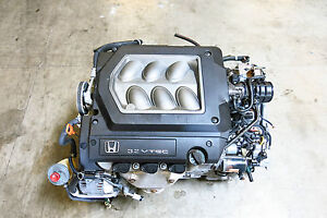 Acura on Jdm Honda Acura Tl Cl J32a 3 2l Sohc Vtec V6 Engine Only 99 03 J30 J32