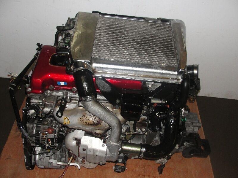 JDM SR20DET Nissan Pulsar Gtir Red Top Engine Swap sr20 G20 Sentra Turbo Motor