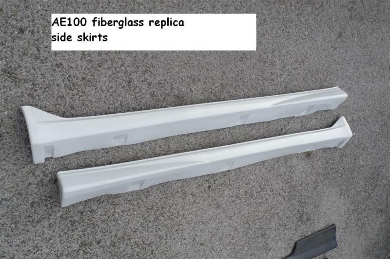 JDM Toyota Corolla AE100 ae101 GT side skirts wagon FX on PopScreen