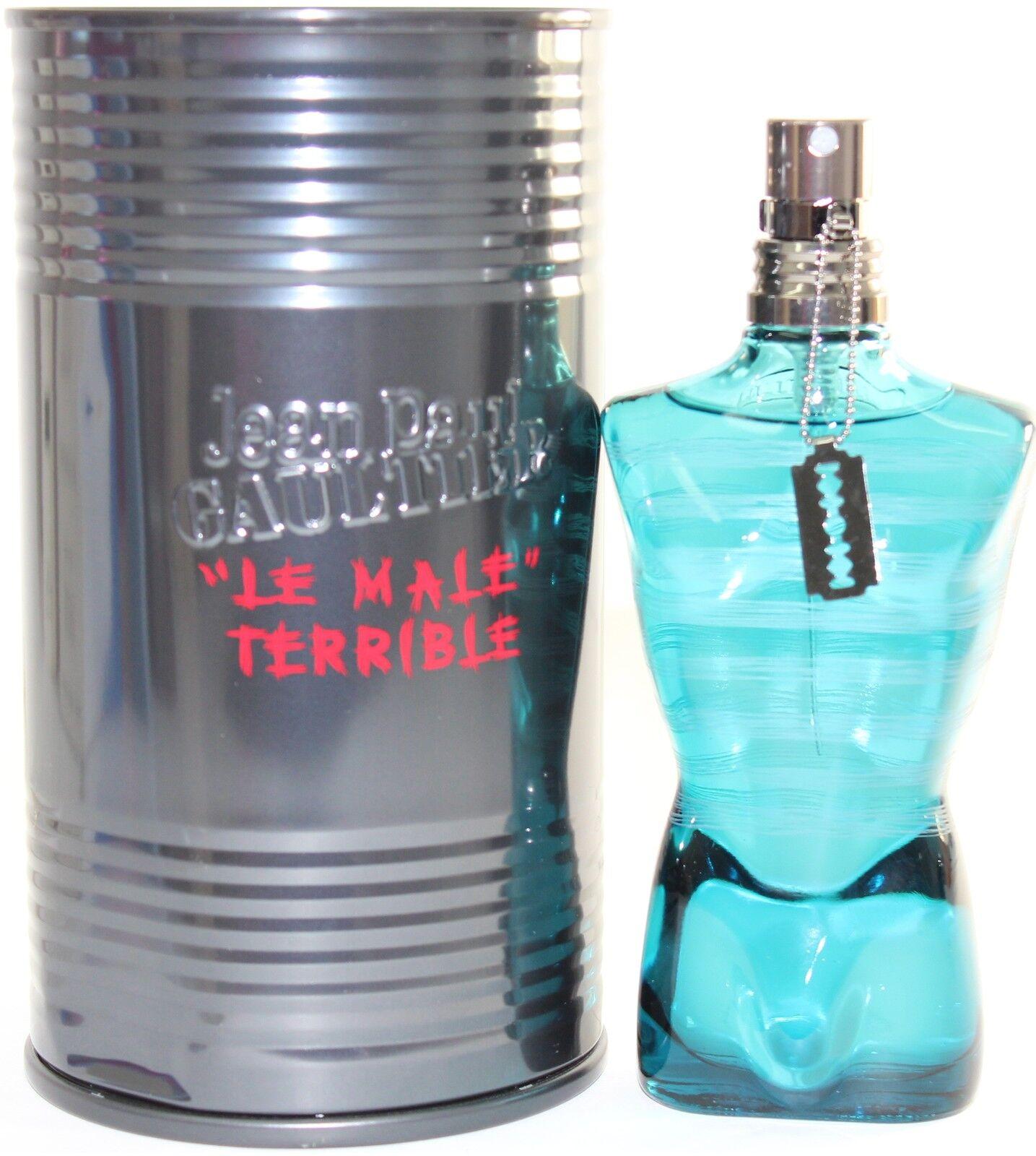 jean paul gaultier le male terrible 2 5 oz edt spray for. Black Bedroom Furniture Sets. Home Design Ideas